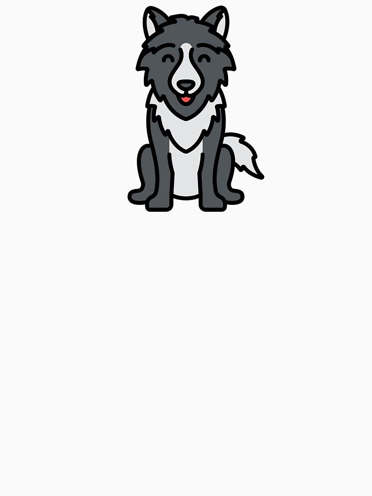 Cute Happy Wolf Cartoon Logo Essential T Shirt By Passionemporium Cartoon Logo Animal Tshirt Cartoon