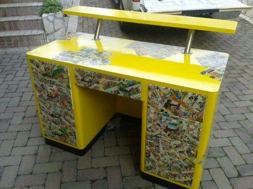 Mobili Decoupage ~ Oltre fantastiche idee su decoupage scrivania su
