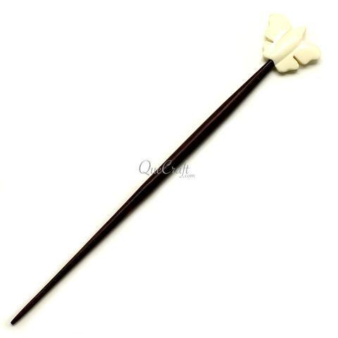 Rosewood & Bone Hair Stick - Q12314