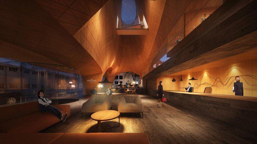 Hotel T 243 Rshavn By Henning Larsen Expresses Faroe Islands