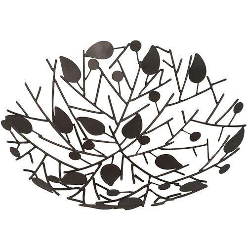 Decorative Leaf Bowl Interesting Decorative Metal Twig Bowl  Recycled Metal Twig And Leaf Bowl 2018