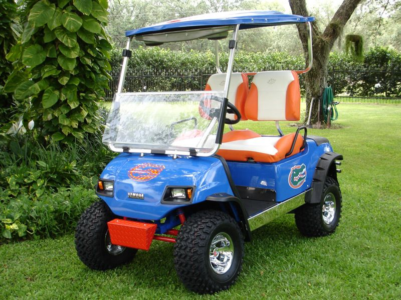let's do this to grandma and grandpa's gator Golf carts