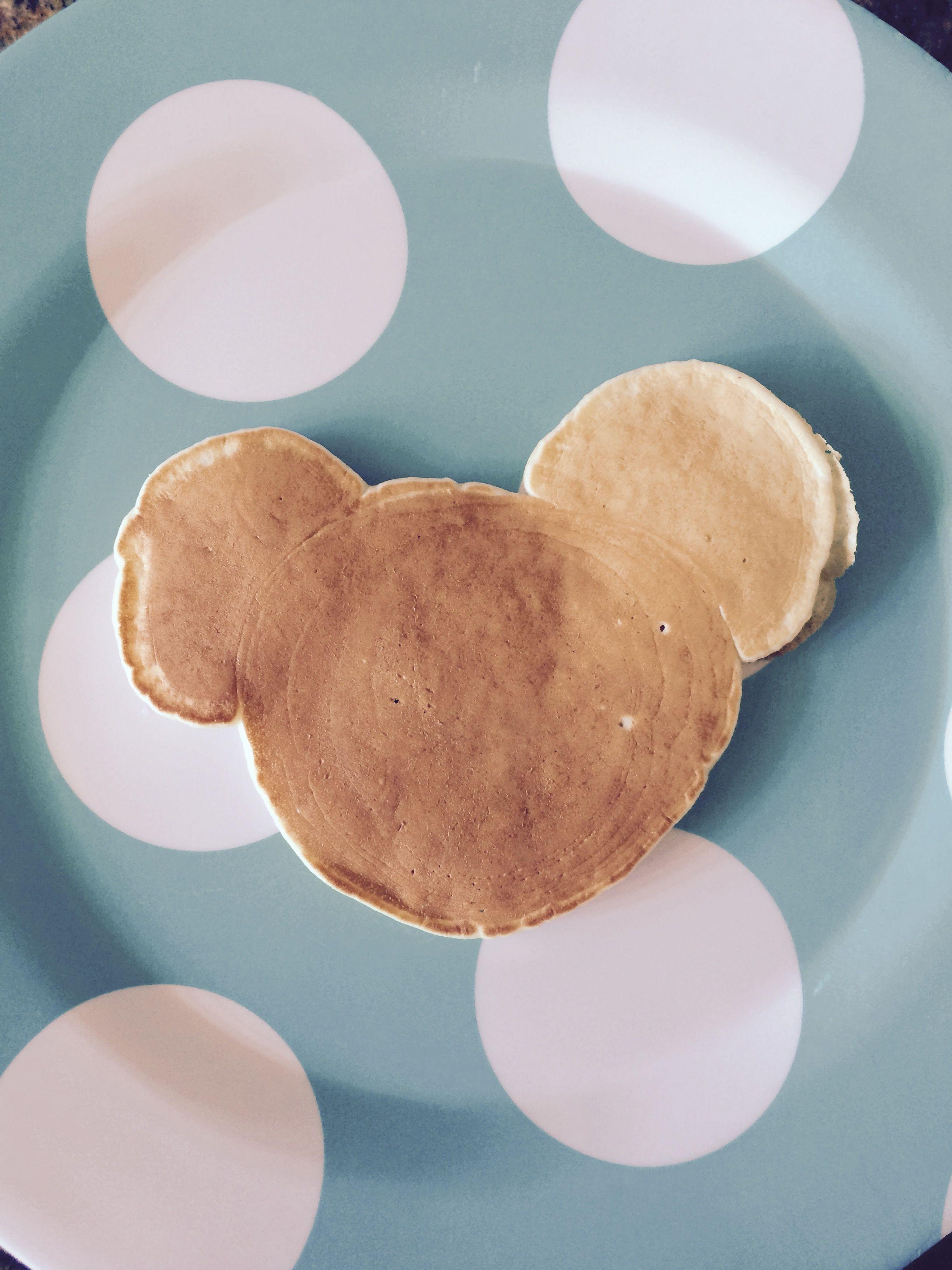 Panqueca americana Mickey