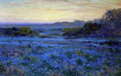 Julian Onderdonk (American, 1882-1922)  Bluebonnets
