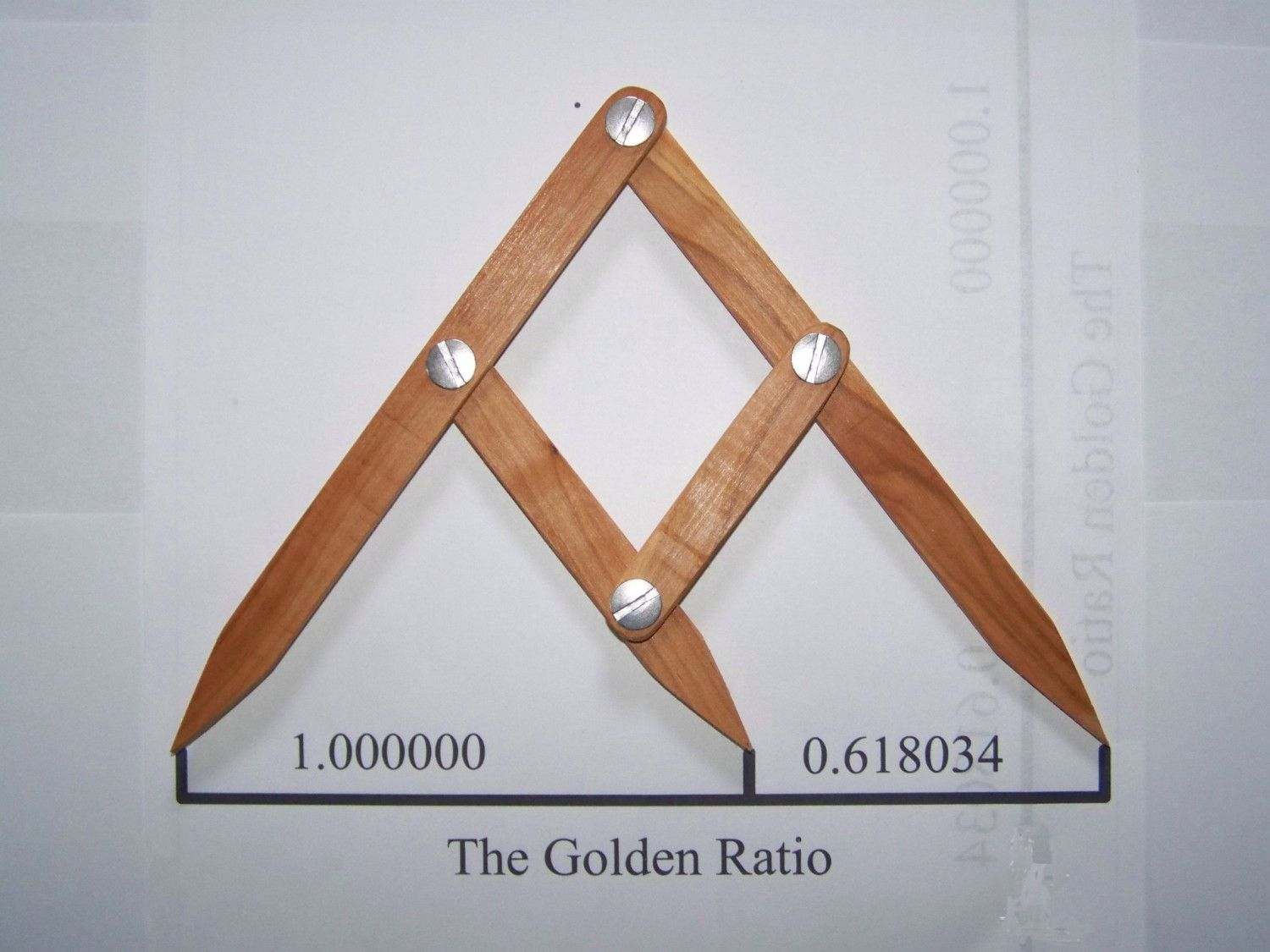 GOLDEN MEAN,PHI,GOLDEN RATIO CALIPER FIBONACCI GAUGE