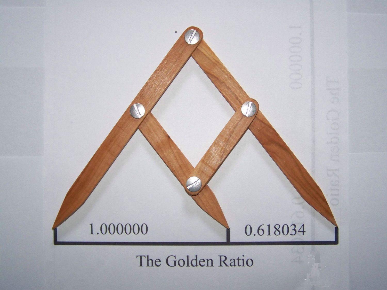 Fibonacci Gauge, Arts And Crafts Golden Ratio Design Tool