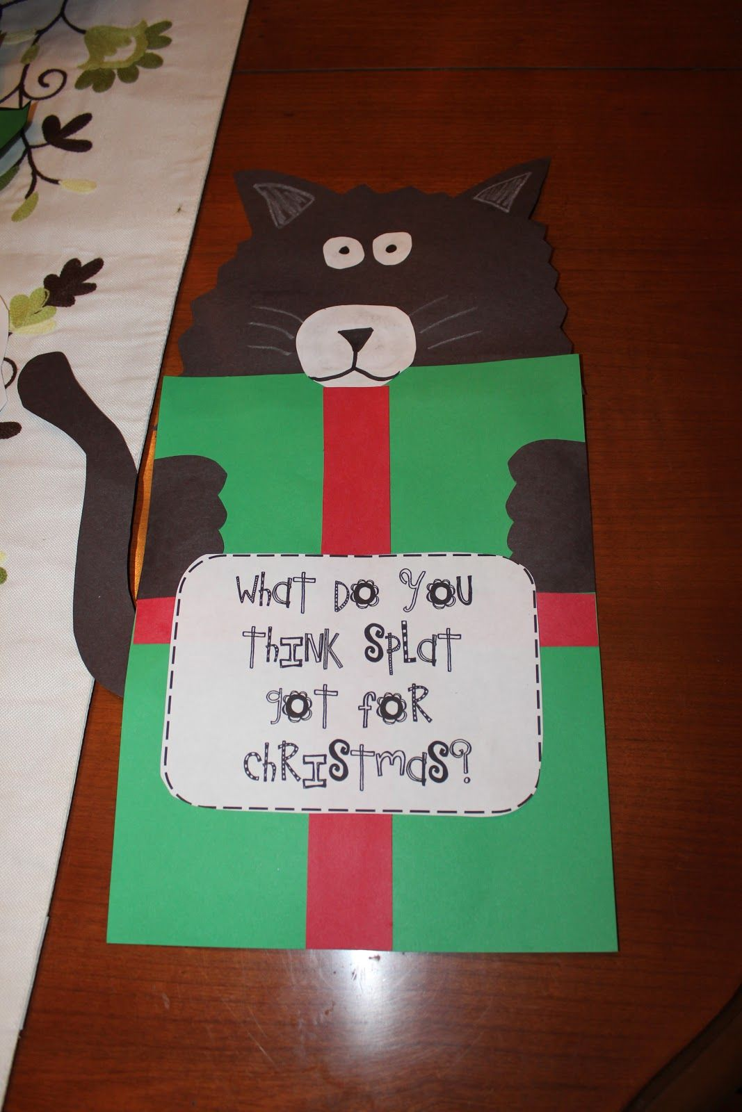 Merry Christmas Splat The Cat Activities
