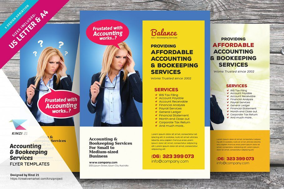 Accounting Bookkeeping Flyers Bookkeeping Flyer Template Bookkeeping Services