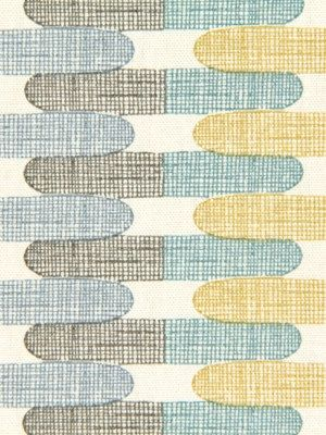 Aqua Gray Geometric Upholstery Fabric   Custom Yellow Grey Pillow Cover    Aqua Yellow Curtain Panels   Custom Blue Geometric Roman Shade