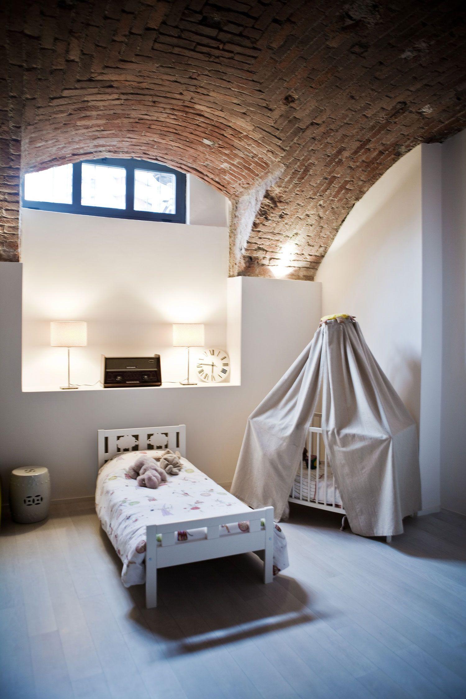 Loft space bedroom ideas  LOFT Milano by Frederic Gooris and Werner Silvestri  kidus space