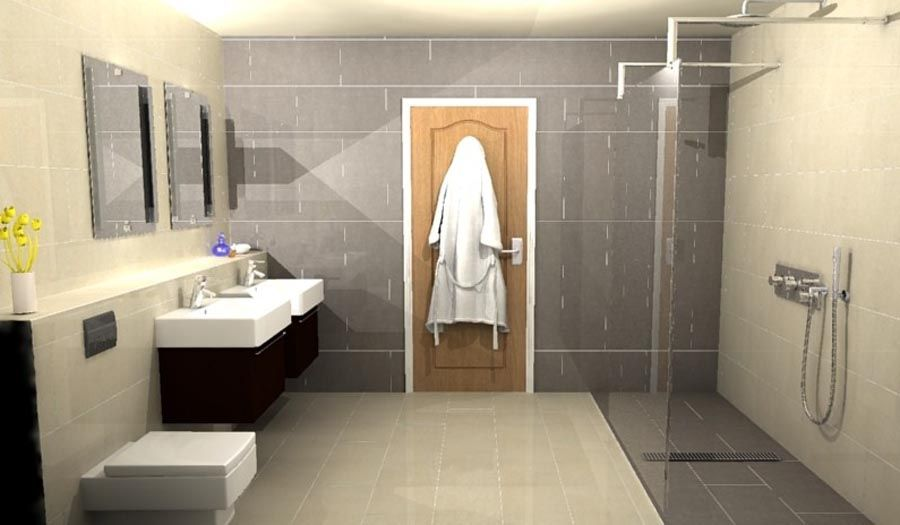 Ensuite bathroom design ideas Ensuite tile ideas pictures