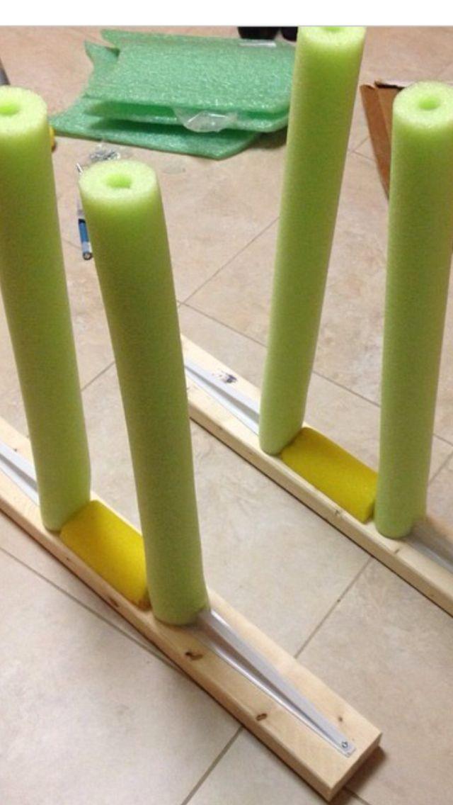 DIY Paddle board storage rack $13 & DIY Paddle board storage rack $13 | u003cCleaning//Organization ...