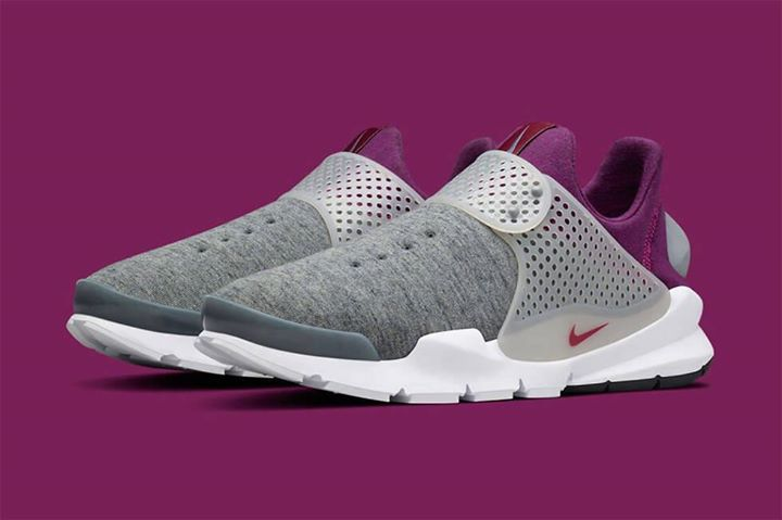 quality design 06ddf 19e29 Find out all the latest information on the NikeLAB Sock Dart Tech Fleece  Grey Purple, including release dates, prices and where to cop.