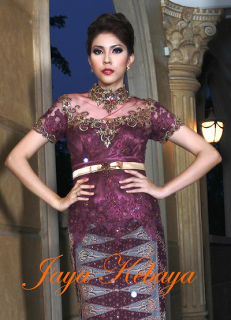 amazing kebaya modern dress 2016 - silver
