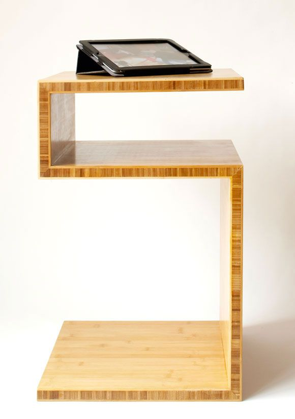 Beistelltisch aus Bambusplatten selber bauen