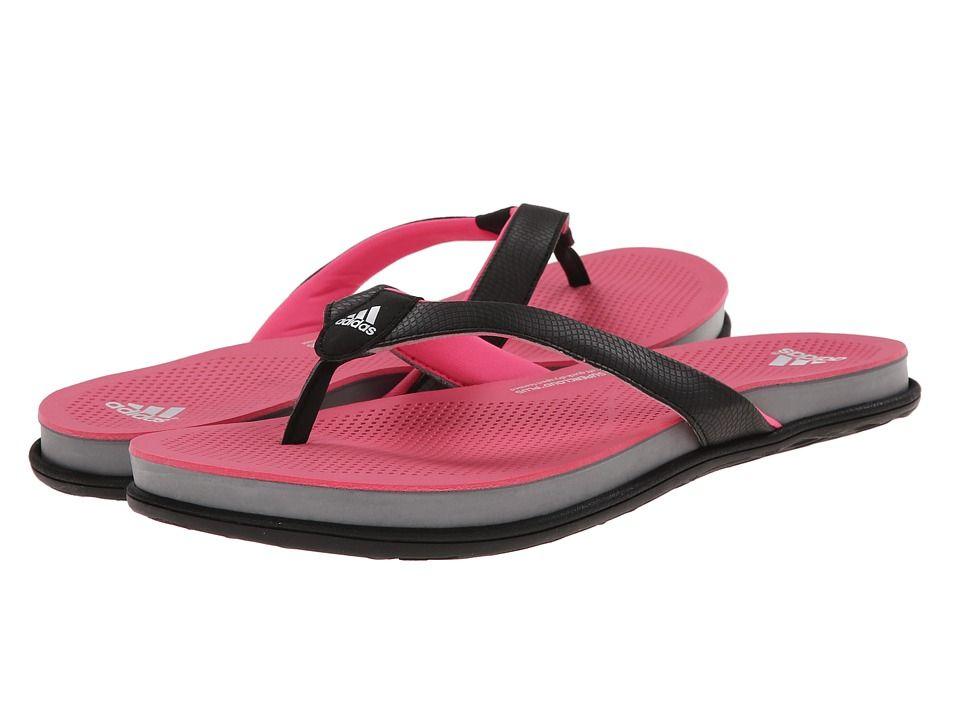 9bd126c258aa ADIDAS ORIGINALS ADIDAS - CLOUDFOAM ULTRA THONG (BLACK SOLAR PINK GREY)  WOMEN S SANDALS.  adidasoriginals  shoes