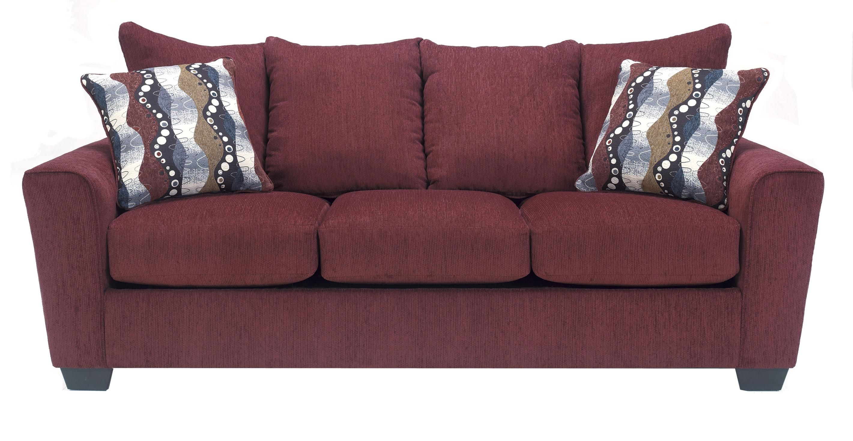 Prime Brogain Burgundy Sofa By Benchcraft Red Furniture Pdpeps Interior Chair Design Pdpepsorg