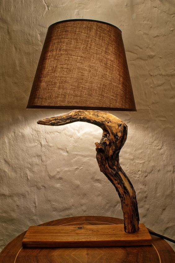 Wood l&s can definitely steal the show. And since there are different types of wood choose from you can find different designs of wood l&s too. & Новости | Lamps | Pinterest