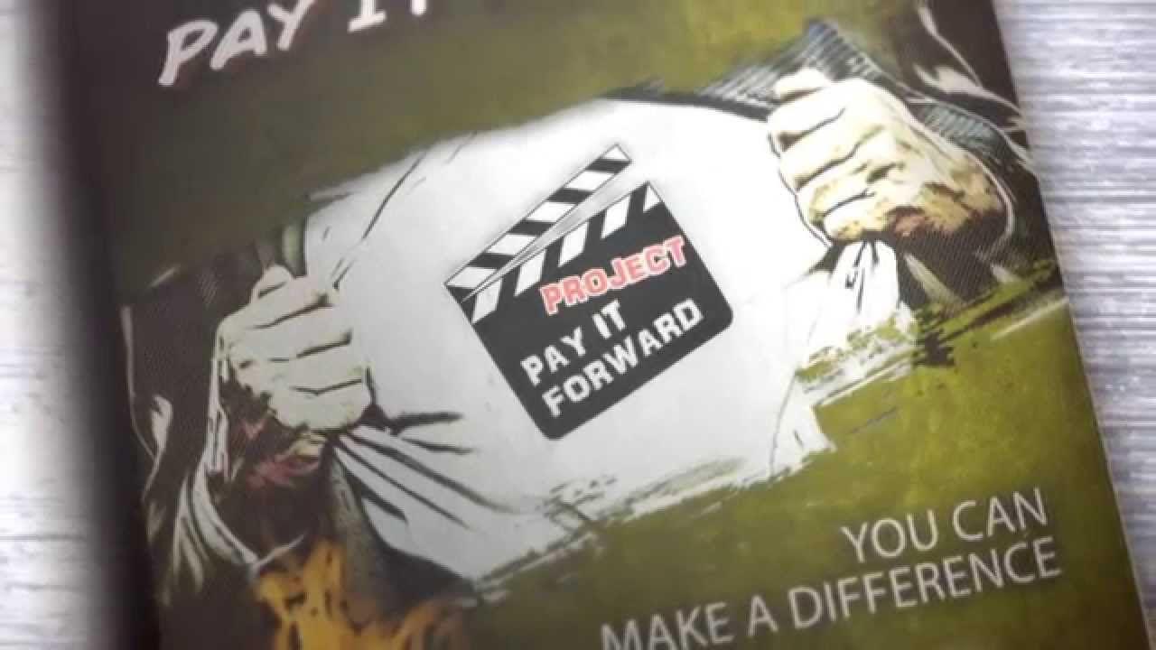 YouTube Pay it forward, Paying, Forward