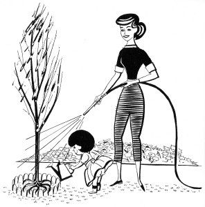 saving water clipart black and white - Clip Art Library