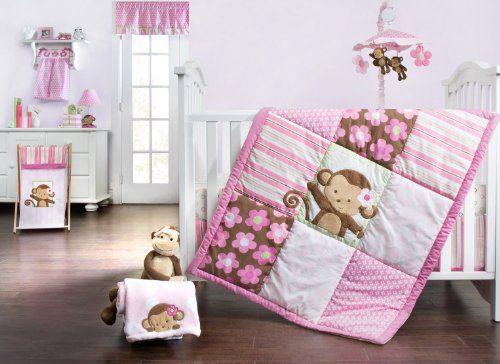 Girls Monkey Crib Bedding Crib Bedding Girl Monkey Baby Rooms