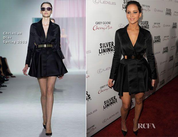 Jennifer Lawrence In Christian Dior – 'Silver Linings Playbook' LA Screening