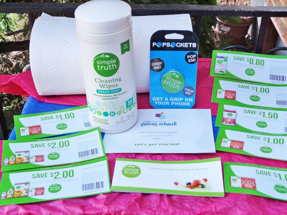 Great Free Samples of Simple Truth Organics from Fred Meyer\u0027s My