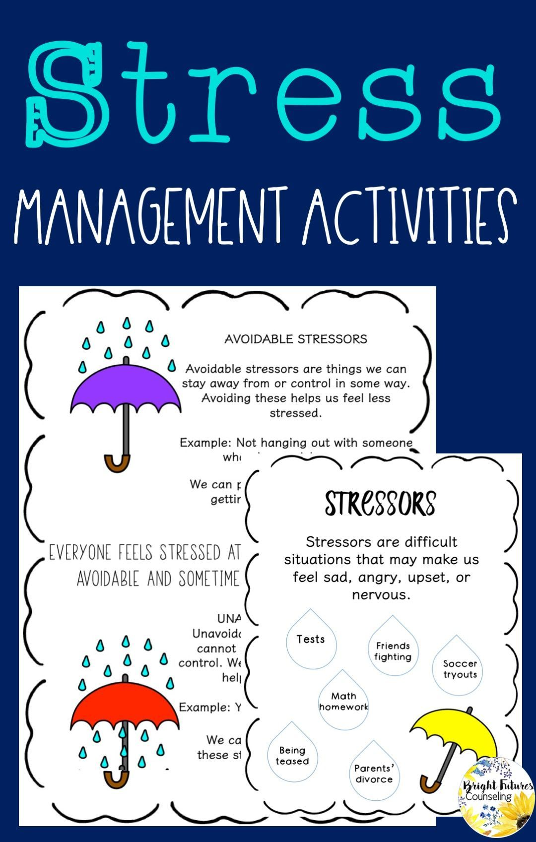 Relieving And Managing Stress Counseling Games And