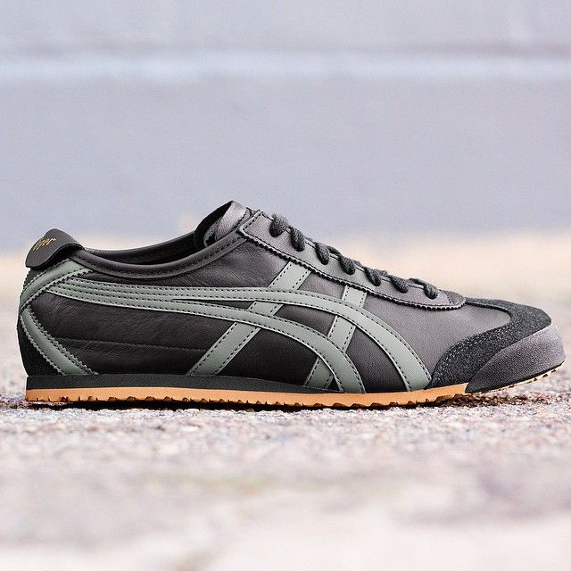 "Onitsuka Tiger on Instagram: ""The black/grey/gold Mexico 66 is a great  addition to any wardrobe. Pick up a pair online at OnitsukaTiger.com or at  your local ..."