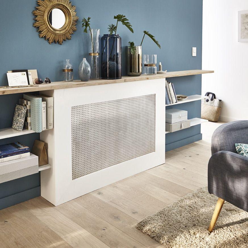 un cache radiateur faire soi m me le chauffage sous toutes ses formes pinterest style. Black Bedroom Furniture Sets. Home Design Ideas