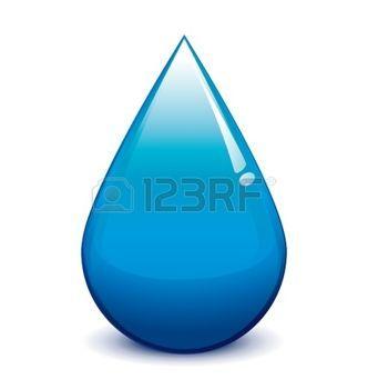 life saving: Water droplet