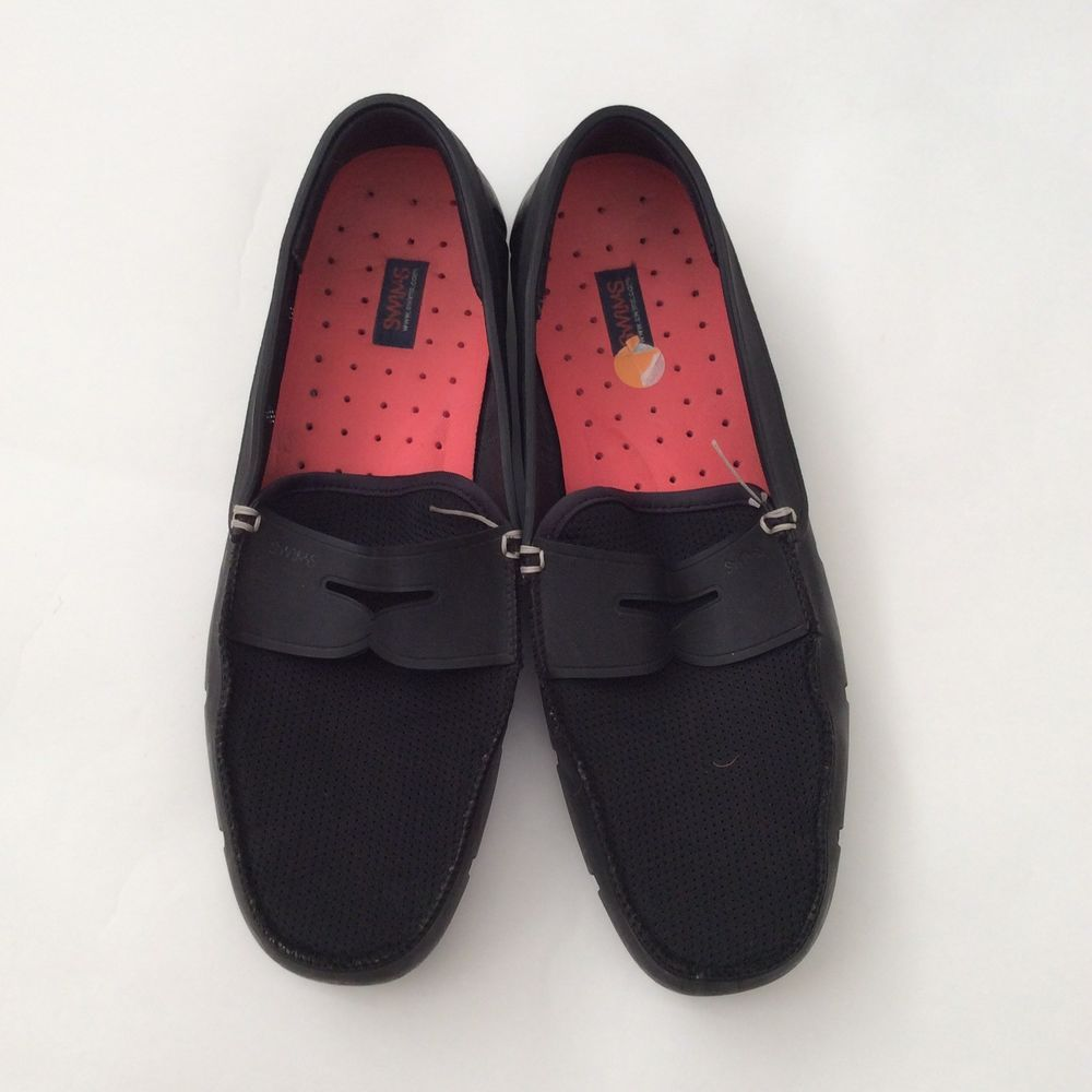 0c9af915d4ae4 SWIMS Mens Size 11 Black Slip On Waterproof Loafers Driving Mocassins GUC  #fashion #clothing #shoes #accessories #mensshoes #casualshoes (ebay link)