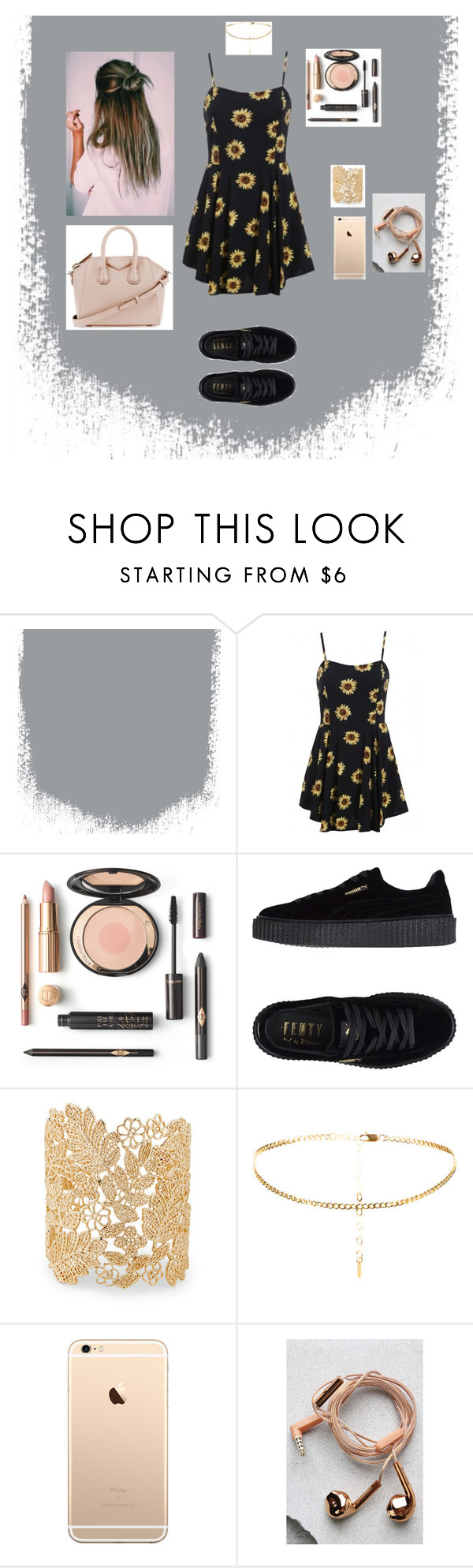 """Untitled #780"" by julia-m-a-r-v-e-l ❤ liked on Polyvore featuring Puma, Sole Society, Happy Plugs and Givenchy"