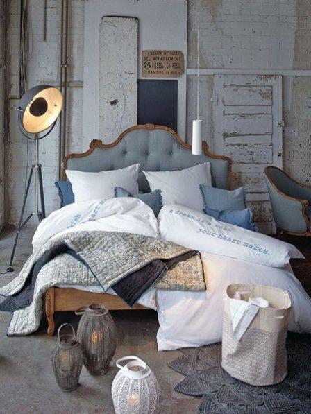 Perfekt fürs Schlafzimmer Blau trifft Taubengrau in 2020