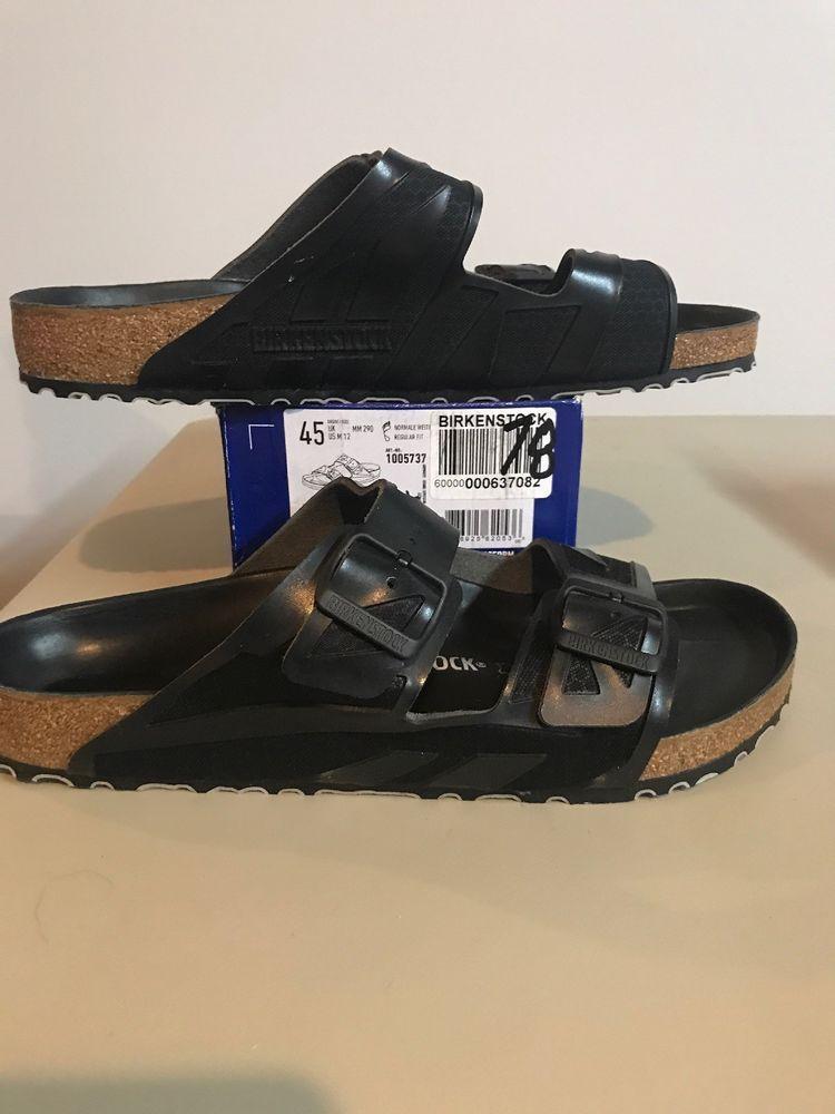 afa1855f74 Birkenstock Mens Arizona Rubberized Sandals Black Size EU 45/ US Mens 12  (M78) #fashion #clothing #shoes #accessories #mensshoes #sandals (ebay link)