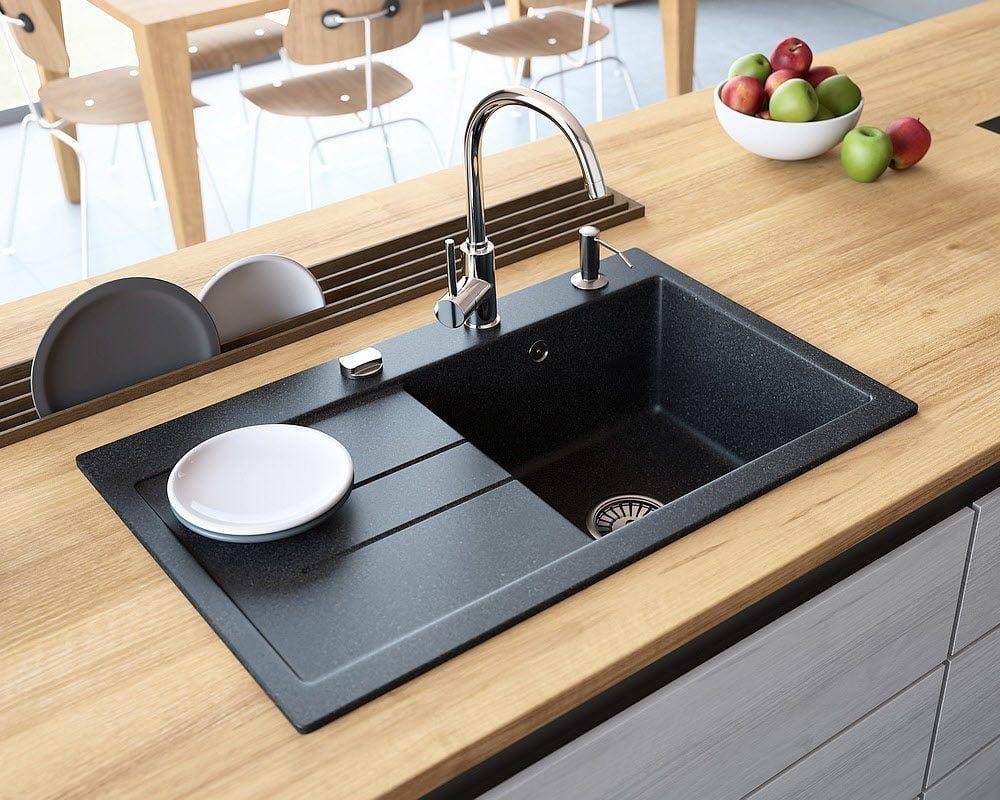 Chiuevta Granit Luxor 1 Küche Waschbecken Küche Spülbecken Küche