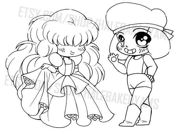 Steven Universe Ruby and Sapphire Clip Art by YamPuffsStuff