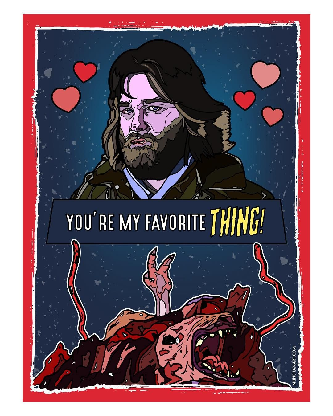 Spread Your Love With These Creative Horror Movie Valentines