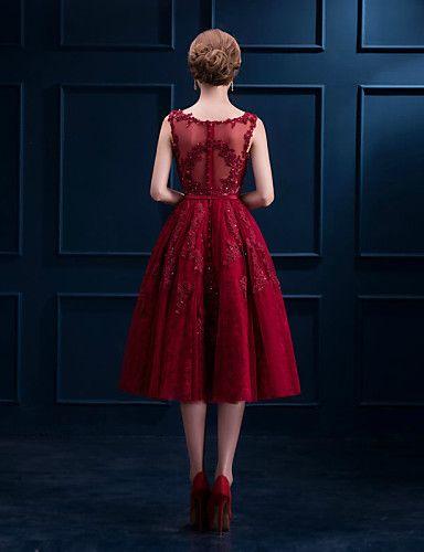 Robe de soiree couleur rubis