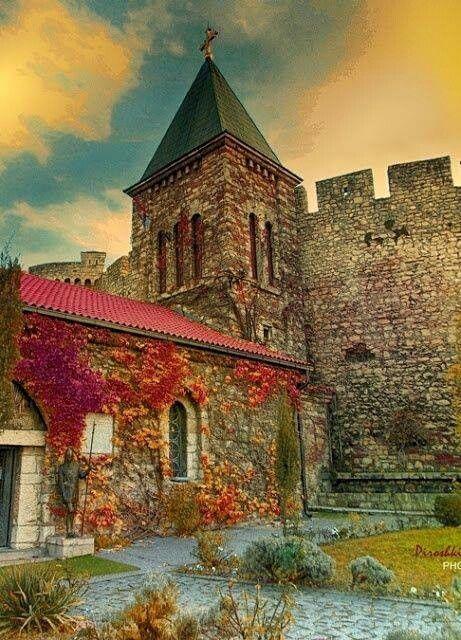 Ancient castle, Belgrade, Serbia
