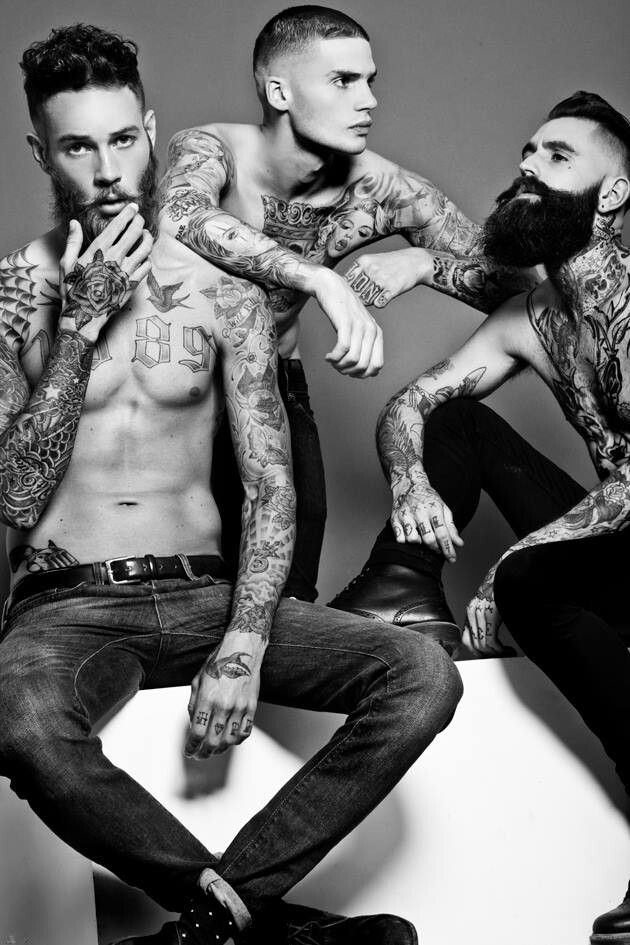 Danny Baldwin photography #tattoos #malemodels