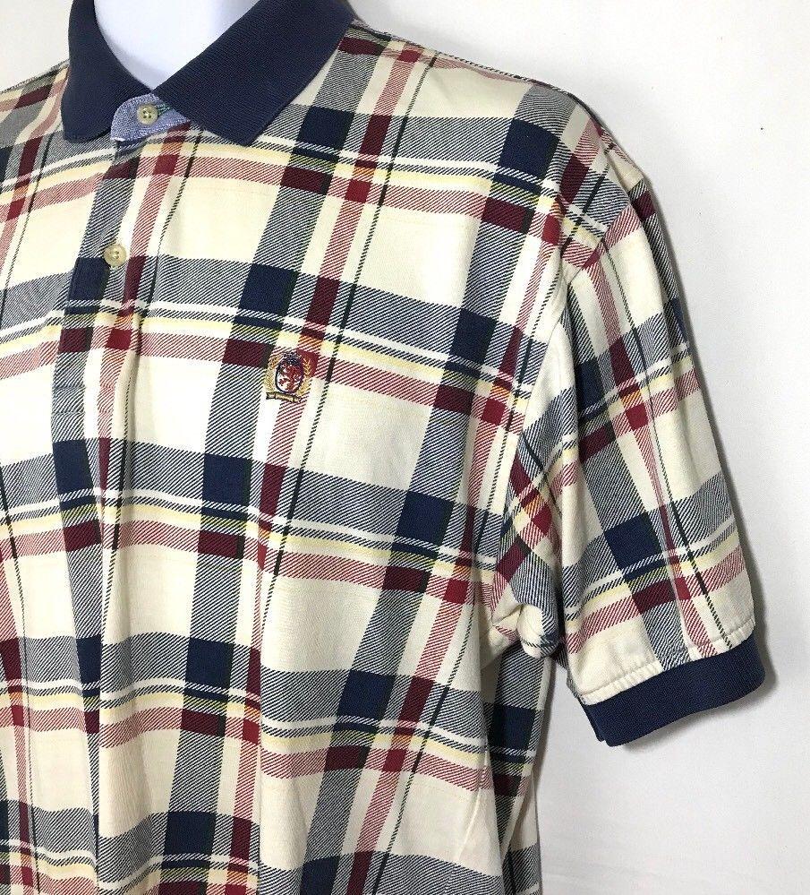 Vintage Striped Tommy Hilfiger Shirt Large