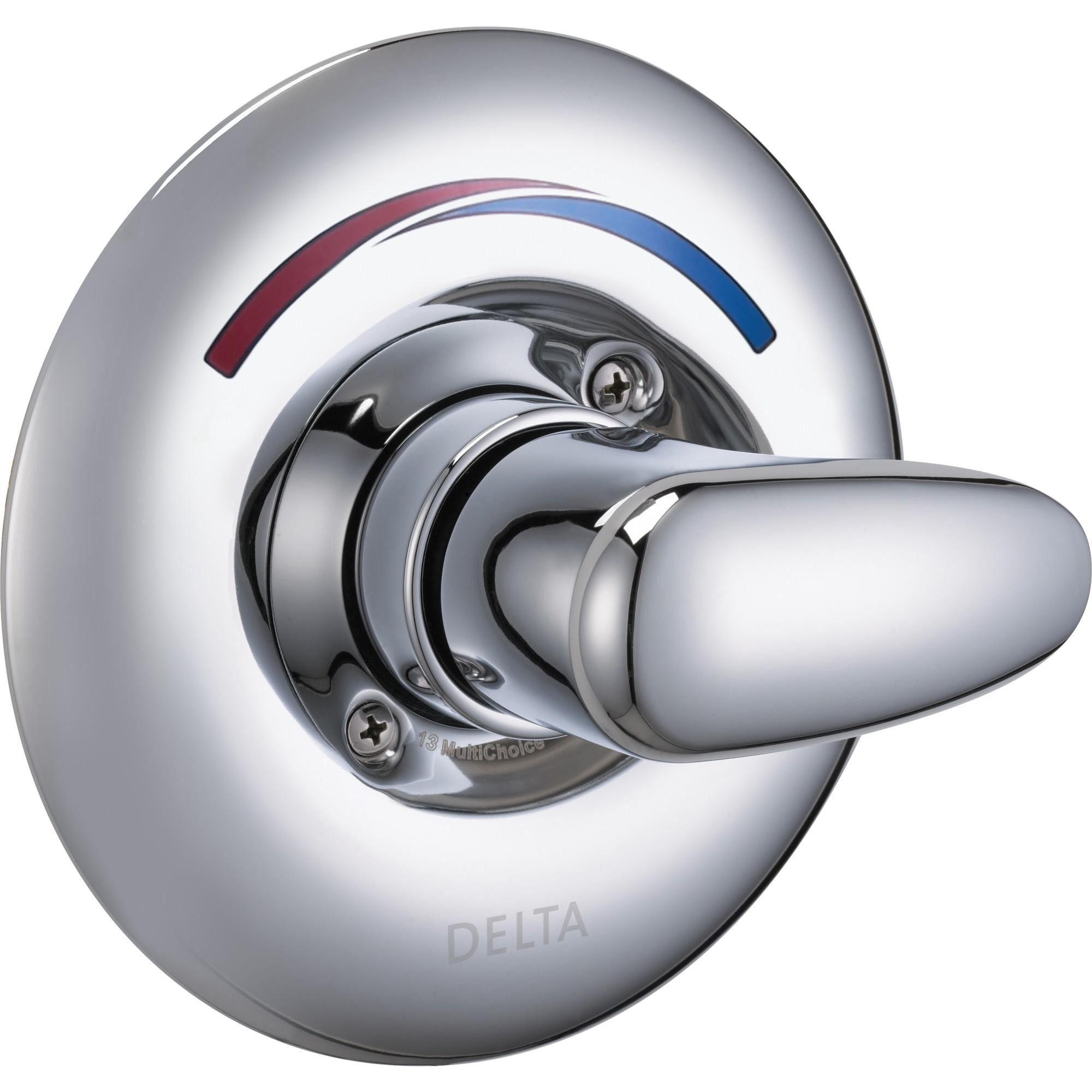 Delta Faucet T13h102 Single Handle Shower Valve Trim Chrome