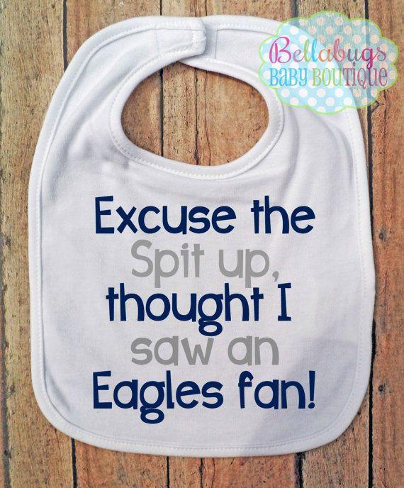 a51b4fa06 Excuse the spit up Bib Dallas Cowboys Football by BellabugsBaby ...