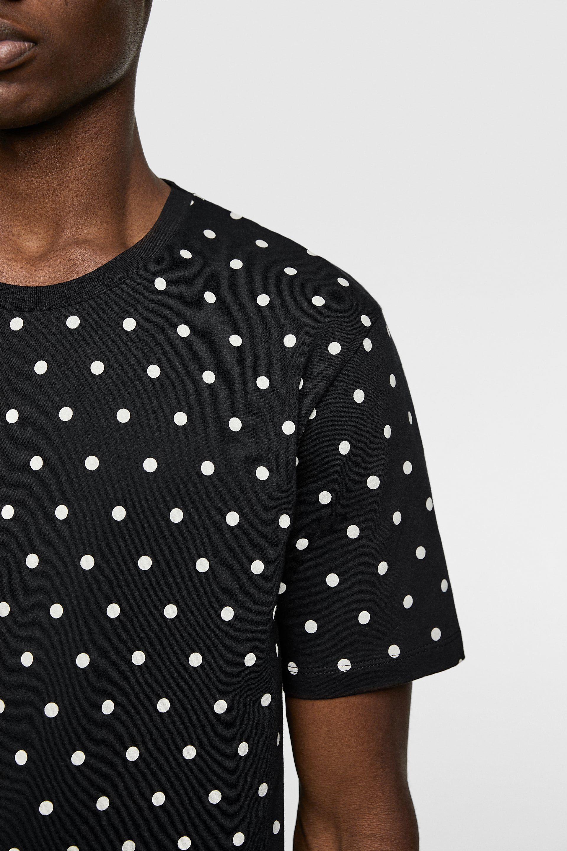 Polka Dot Print T Shirt Polka Dot T Shirts Polka Dots Polka