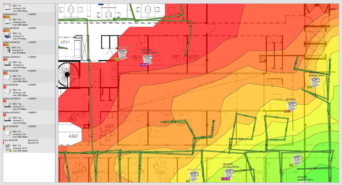 HeatMapper | Free Wi-Fi coverage mapping software for homes and small offices.