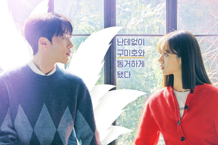 """Jang Ki Yong Makes A Shocking Proposal To Girl's Day's Hyeri In Cute Poster For """"My Roommate Is Gumiho"""""""