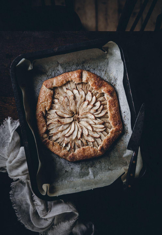 Apple Pear Galette with Hazelnut Frangipane - Call Me Cupcake