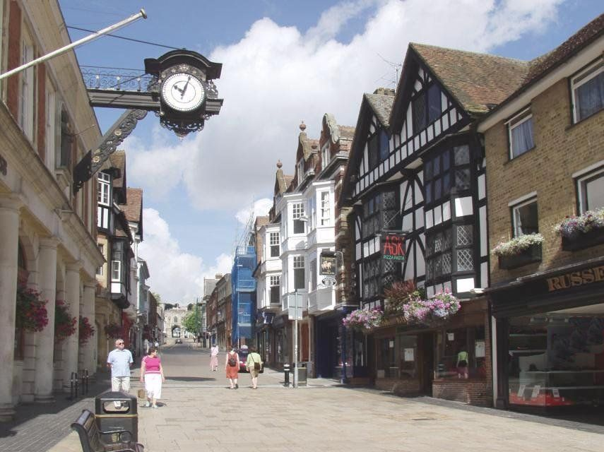 Beenthere Donethat The High Street Winchester Hampshire Engeland Plaatsen