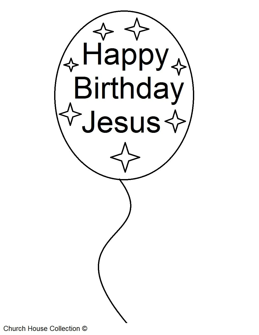 Happy Birthday Jesus Coloring Pages 2jpg 10191319 pixels